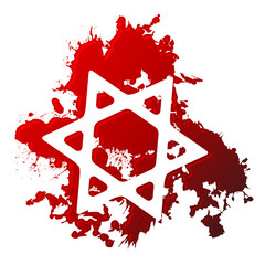 Blood star of david