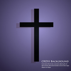 vector cross background