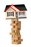 Home Investments ob Blocks. poster