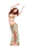 umwerfende orientalische Tänzerin