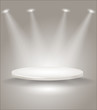 Bright stage with spot lights - 38903857