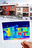 thermal imaging of  row houses