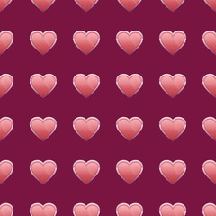 Valentine's seamless background pattern