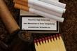 Rauchen warnung