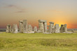 Stonehenge, the UNESCO world heritage site in UK