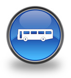 Transport Glossy Button