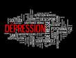 "Nuage de Tags ""DEPRESSION"" (nerveuse maladie stress souffrance)"