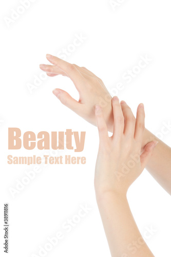 Beauty hands