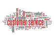 """CUSTOMER SERVICE"" Tag Cloud (hotline contact details us button)"