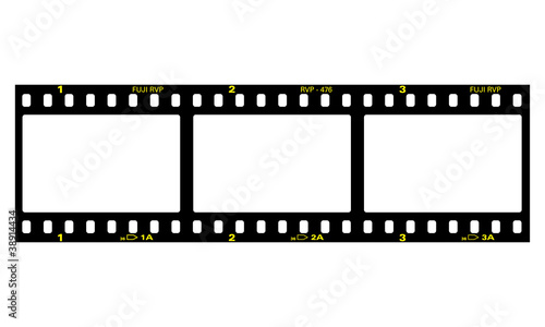Filmstreifen, Negativ, Film, Fotorahmen - 38914434