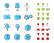 Presentation icons set 2