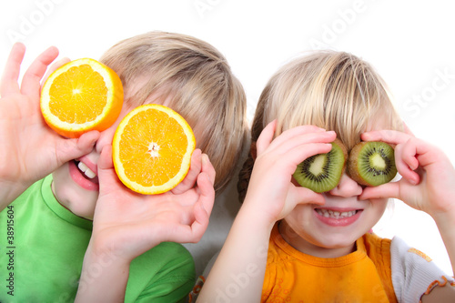 children fruit