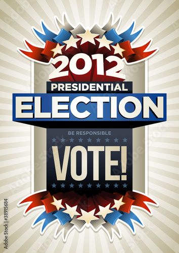 USA Election Poster