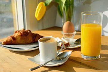 Breakfast au soleil