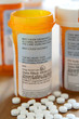 Warning Label on Prescription Bottle
