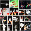 Collage of electrical instruments. - 38918849