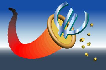 Füllhorn Euro