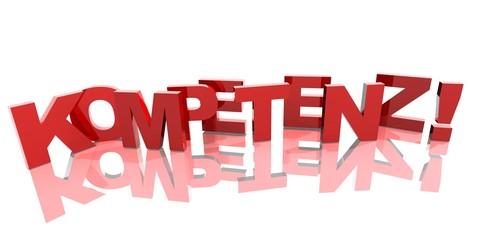 3D Buchstaben - KOMPETENZ