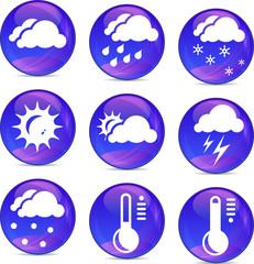 weather icons eps10