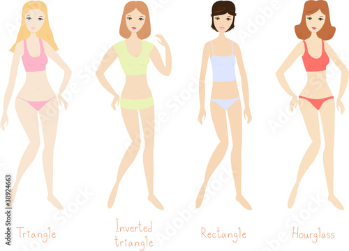 4 women's body types