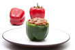 Gefüllte grüne Paprika