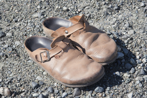 Old Clogs on the Rocks
