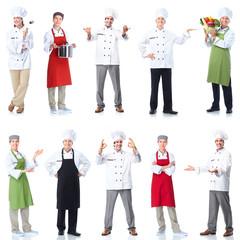 Chef baker set.