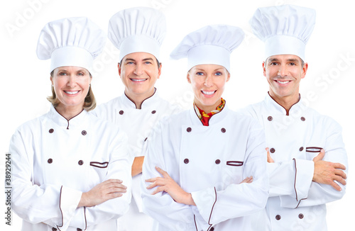 Chef baker group.