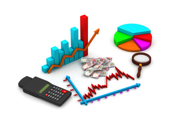 Financial graph analyzing