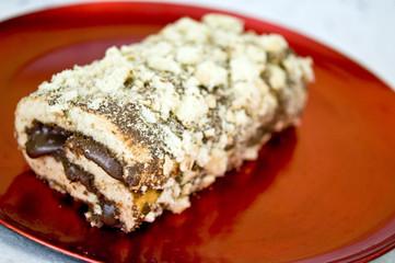 Biscuit hazelnut cream