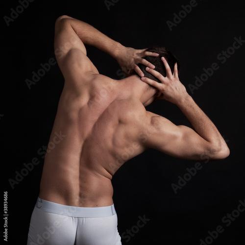 Fototapeten,sportlich,mann,muskel,leute