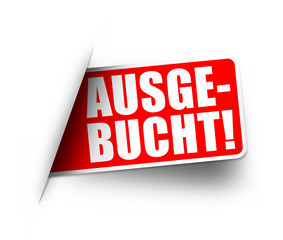 Ausgebucht! Button, Icon