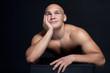 Fototapeta Model - Mięsień - Mężczyzna