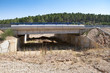 Wildlife crossing at A-15 motorway, Soria, Spain