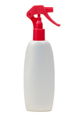 Plastic bottle with a spray