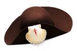 chapéu de peregrino a santiago de compustela poster