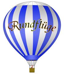 Rundflug, Ballonfahrt