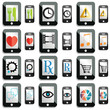 smartphone and tablet icons