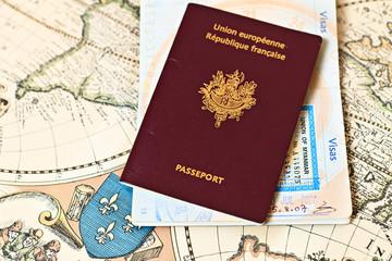 passeports sur carte