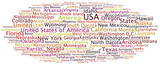Tag Cloud USA