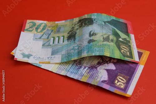 Israeli Shekel Bills