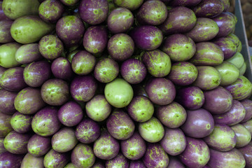 eggplants on sale