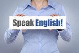 Fototapety Speak English
