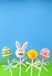 Easter mini cakes on sticks