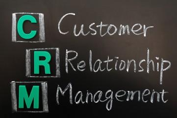 Acronym of CRM - Customer Relationship Management