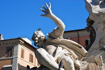Fontana dei Quattro Fiumi, Piazza Navona, Roma