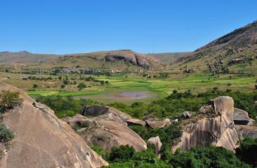 Vue sur la réserve d'Anja