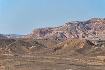 mountains in negev desert, Israel