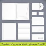 Templates set of corporate identity. vector illustration (eps10)