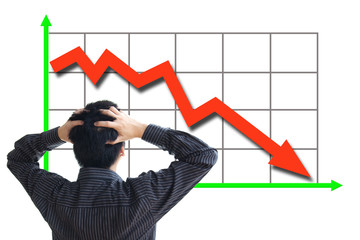 Stock price declining
